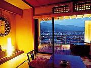 客室露天風呂の一例(下呂観光ホテル本館)
