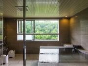 客室展望風呂の一例