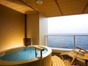 露天風呂付客室の宿