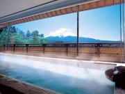 富士山の見える大浴場