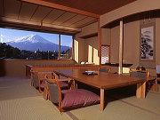 富士山の見えるお部屋の一例