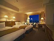 夜景の見える客室の一例